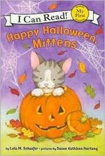 Book cover of HAPPY HALLOWEEN MITTENS