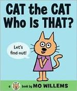 Book cover of CAT THE CAT WHO IS THAT