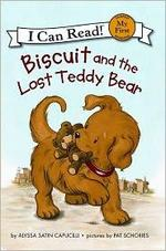 Book cover of BISCUIT & THE LOST TEDDY BEAR