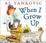 Book cover of WHEN I GROW UP