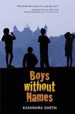 Book cover of BOYS WITHOUT NAMES