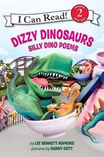 Book cover of DIZZY DINOSAURS - SILLY DINO POEMS