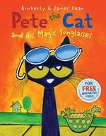 Book cover of PETE THE CAT & HIS MAGIC SUNGLASSES