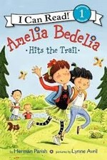 Book cover of AMELIA BEDELIA HITS THE TRAIL