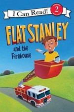 Book cover of FLAT STANLEY & THE FIREHOUSE