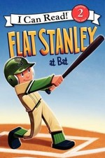 Book cover of FLAT STANLEY AT BAT
