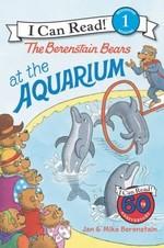 Book cover of BERENSTAIN BEARS AT THE AQUARIUM