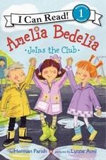 Book cover of AMELIA BEDELIA JOINS THE CLUB