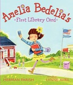 Book cover of AMELIA BEDELIA'S 1ST LIBRARY CARD