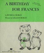 Book cover of BIRTHDAY FOR FRANCES