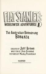 Book cover of FLAT STANLEY 08 AUSTRALIAN BOOMERANG BON