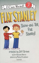 Book cover of FLAT STANLEY SHOW & TELL FLAT STANLEY