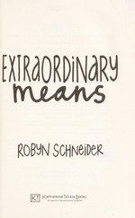 Book cover of EXTRAORDINARY MEANS
