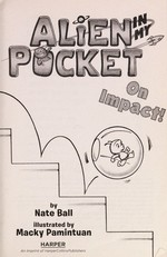 Book cover of ALIEN IN MY POCKET 04 ON IMPACT