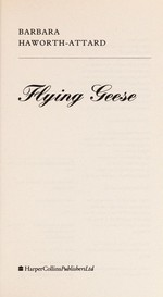 Book cover of FLYING GEESE