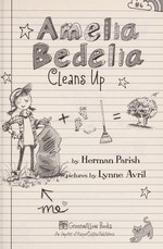 Book cover of AMELIA BEDELIA 06 CLEANS UP