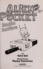 Book cover of ALIEN IN MY POCKET 03 RADIO ACTIVE