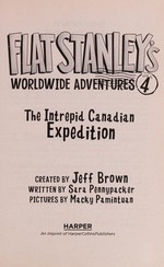 Book cover of FLAT STANLEY 04 INTREPID CANADIAN EXPEDI
