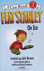Book cover of FLAT STANLEY ON ICE