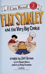 Book cover of FLAT STANLEY & THE VERY BIG COOKIE