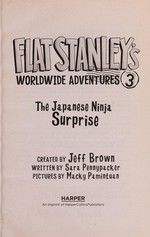 Book cover of FLAT STANLEY 03 JAPANESE NINJA SURPRISE