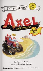 Book cover of AXEL THE TRUCK - BEACH RACE