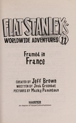 Book cover of FLAT STANLEY 11 FRAMED IN FRANCE
