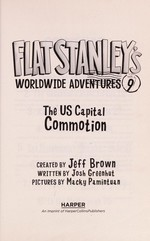 Book cover of FLAT STANLEY 09 WORLDWIDE ADVENTURE