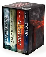 Book cover of DIVERGENT SERIES ULTIMATE 4-BOOK BOX SET