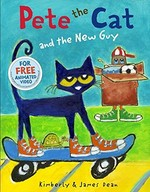 Book cover of PETE THE CAT & THE NEW GUY