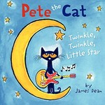 Book cover of PETE THE CAT TWINKLE TWINKLE LITTLE STAR