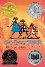 Book cover of 1 CRAZY SUMMER