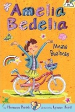 Book cover of AMELIA BEDELIA 01 MEANS BUSINESS
