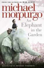 Book cover of ELEPHANT IN THE GARDEN
