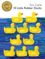 Book cover of 10 LITTLE RUBBER DUCKS