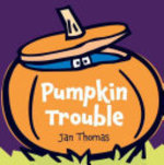 Book cover of PUMPKIN TROUBLE