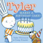 Book cover of TYLER MAKES A BIRTHDAY CAKE