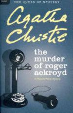 Book cover of MURDER OF ROGER ACKROYD