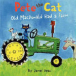 Book cover of PETE THE CAT OLD MACDONALD HAD A FARM