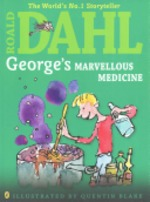 Book cover of GEORGE'S MARVELOUS MEDICINE