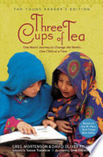 Book cover of 3 CUPS OF TEA