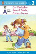 Book cover of AMBER BROWN - GET READY FOR 2ND GRADE