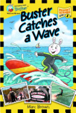 Book cover of BUSTER CATCHES A WAVE