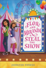 Book cover of FLOR & MIRANDA STEAL THE SHOW