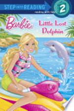 Book cover of BARBIE LITTLE LOST DOLPHIN