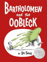 Book cover of BARTHOLOMEW & THE OOBLECK