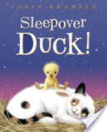 Book cover of SLEEPOVER DUCK