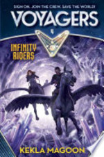 Book cover of VOYAGERS 04 INFINITY RIDERS