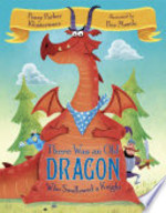 Book cover of THERE WAS AN OLD DRAGON WHO SWALLOWED A