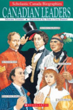 Book cover of CANADIAN LEADERS